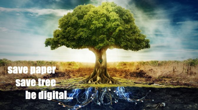 Save a tree… Go digital for investigation case management!